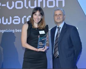 βράβευση του doctoranytime.gr στα evolution awards 2014