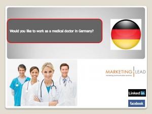 Θέσεις εργασίας για γιατρούς στη Γερμανία