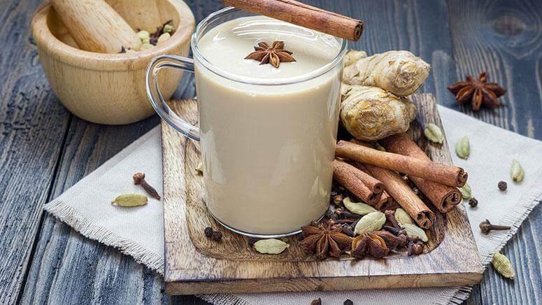 τζίντζερ-latte